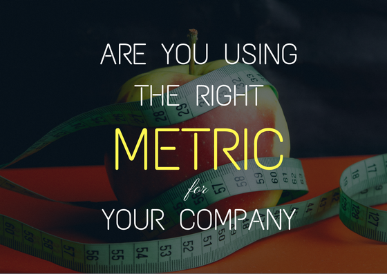 metric to measure company's success