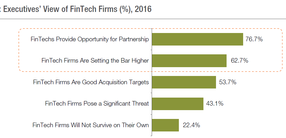 executive view on fintech firm