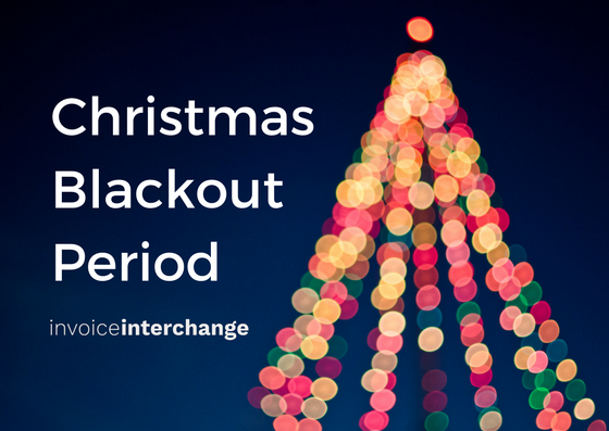 Christmas Blackout Period, shortage working capital during holiday