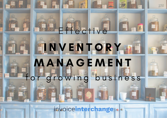 growing business, inventory management