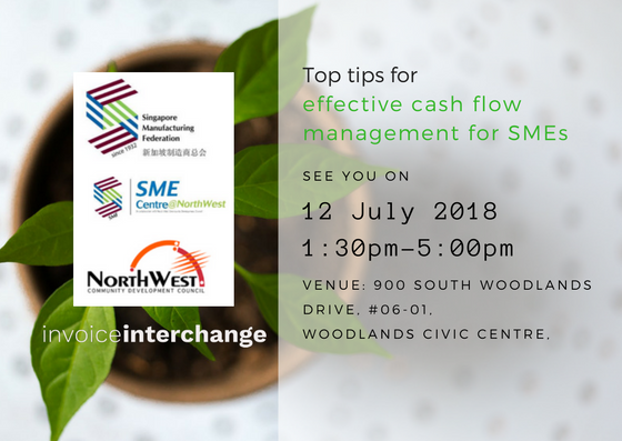 cash flow management, sme centre, capability workshop, collection, late payment