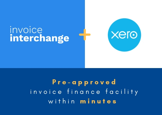 xero-invoiceinterchange partnership provides pre-approved invoice financing within minutes